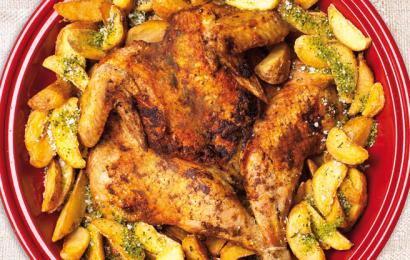 Курча Тапака (табака) з картоплею